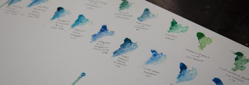portret schilderen olie verf